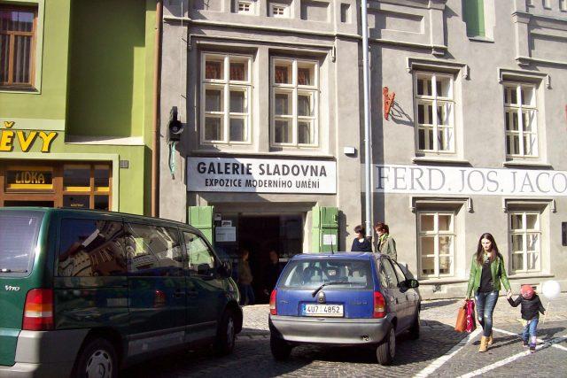 Galerie Sladovna zvenčí