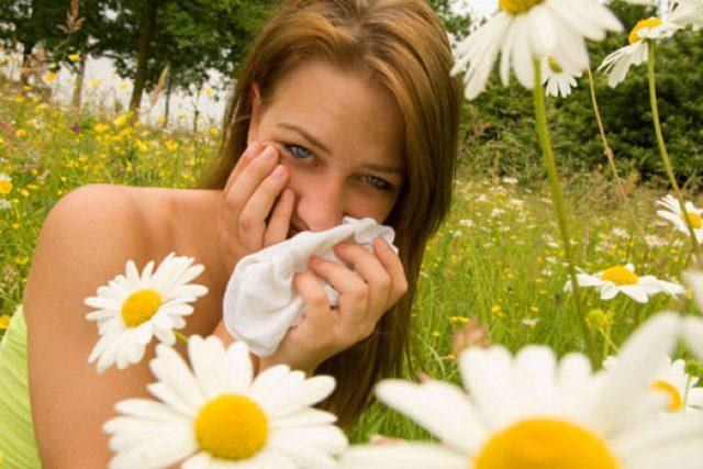 alergie, kašel, rýma