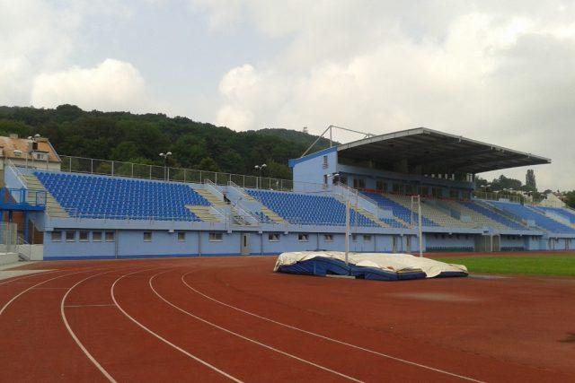 Zrekonstruovaný Městský stadion v Ústí nad Labem