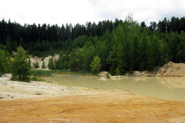 Pískovna Seč u Rudic