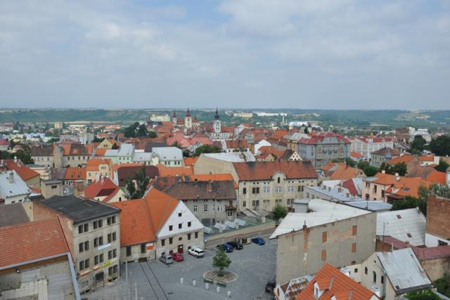 Panorama města Žatec
