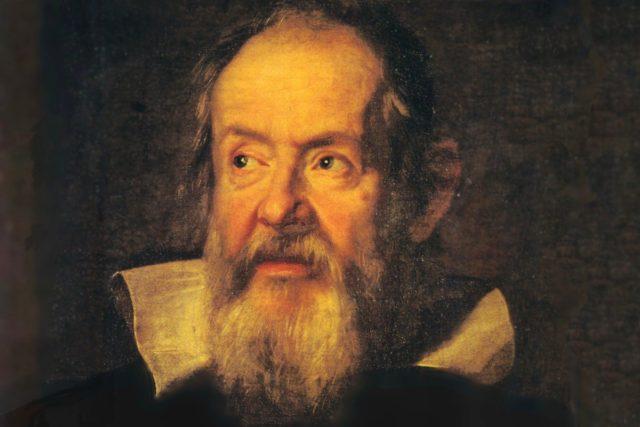 Jestus Sustermans: Portrét Galilea Galileiho (kolem roku 1637)
