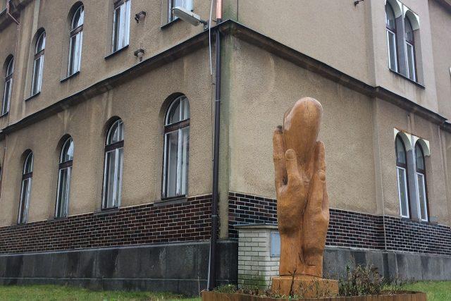Areál domova Srdce v dlani ve Filipově na Děčínsku