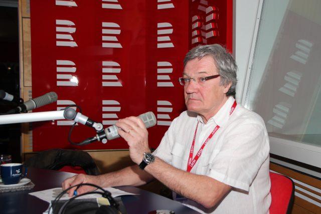 Jan Palouš byl hostem moderátorky Patricie Strouhalové | foto: Prokop Havel,  Český rozhlas