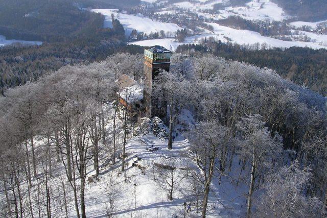 Rozhledna Vlčí hora