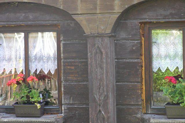 Rumburk - Šmilovského ulice - detail podstávky