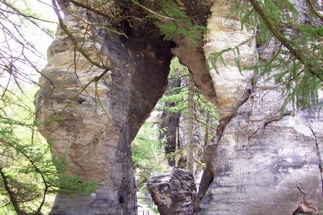 Tiské stěny - brána do skal