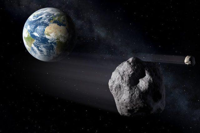 Asteroid 2011 UW-158 se přiblížil Zemi na 2,4 milionu kilometrů