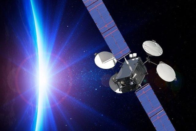 Komunikační družice ABS-3A je vybavena čtyřmi iontovými motory