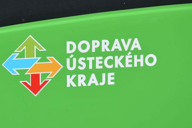 Doprava Ústeckého kraje - logo