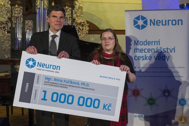 Milionový grant na výzkum loni získala Anna Fučíková