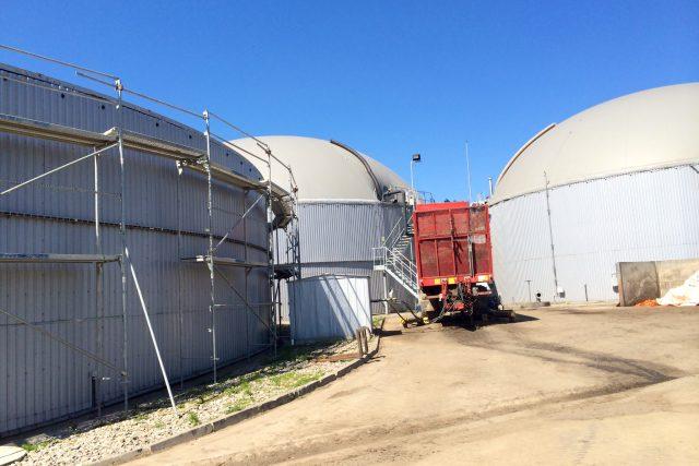 Bioplynová stanice, Větrný Jeníkov