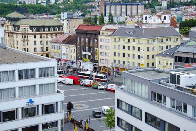Ústí nad Labem - Mírové náměstí