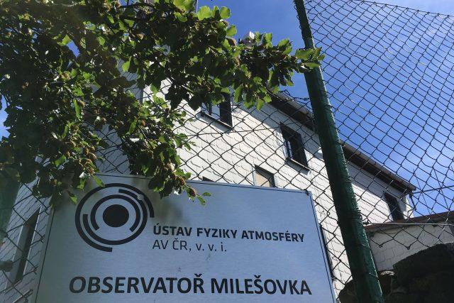 Meteorologická stanice Milešovka
