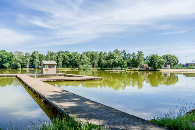 Kamencové jezero v Chomutově   foto: Martin Šopf