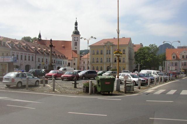 Bílina, náměstí