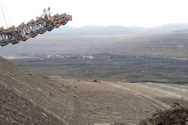 Lom ČSA na Mostecku dosáhl limitů těžby hnědého uhlí