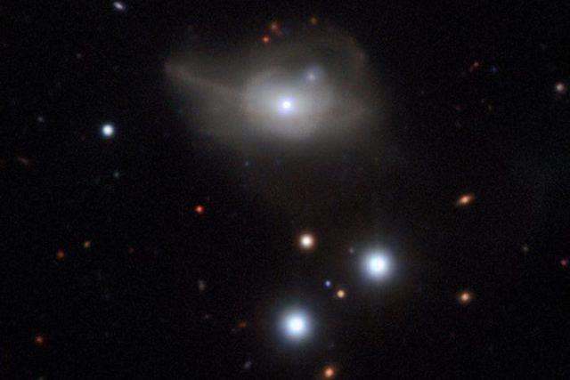 Aktivní galaxie Markarian 1018