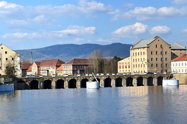 Terezín - most přes Ohře