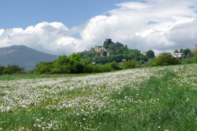 Zřícenina hradu Kamýk u Litoměřic