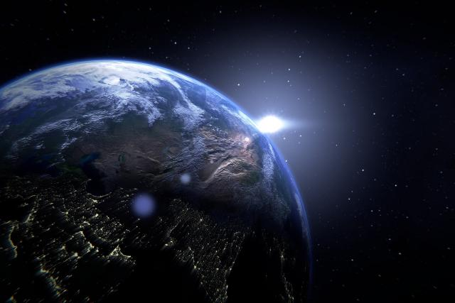 Planeta Země - Země - Země z vesmíru