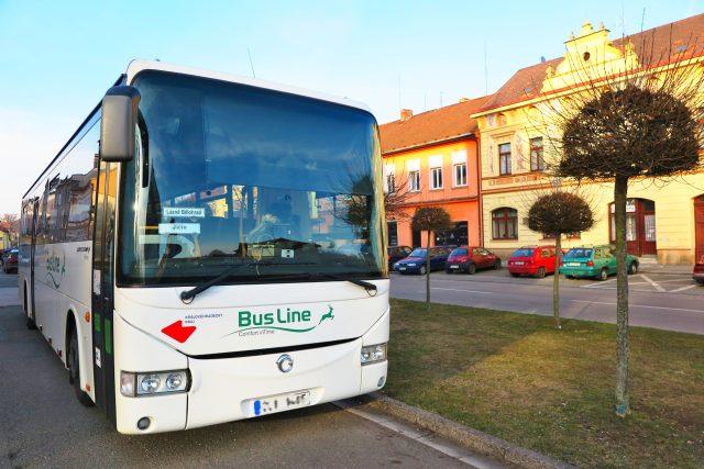 Autobus společnosti BusLine