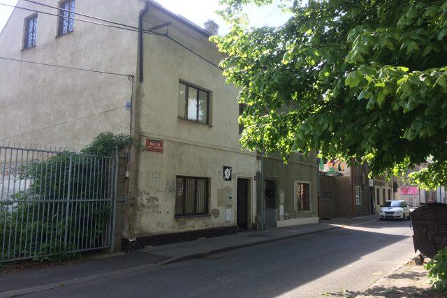 Budova po městské policii v Matiční ulici