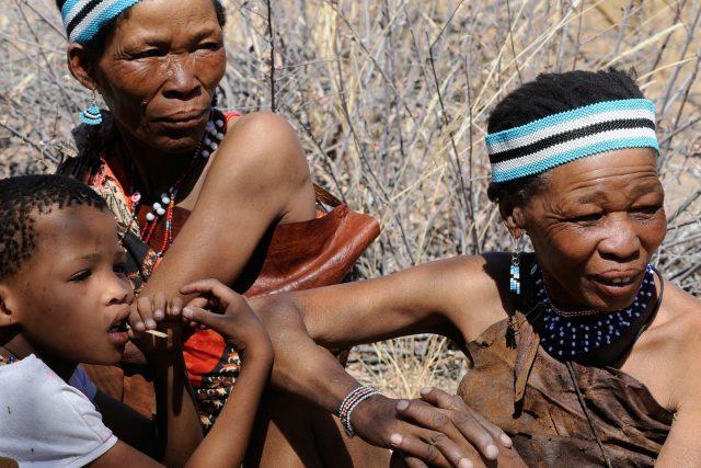 Sanové v Botswaně
