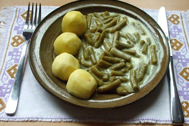 Vídeňské fazolky