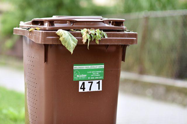 Kontejner na bioodpad  (ilustr. obr.)   foto: Honza Ptáček,  Český rozhlas