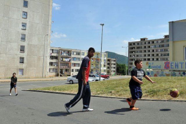 Romové na sídlišti Chanov