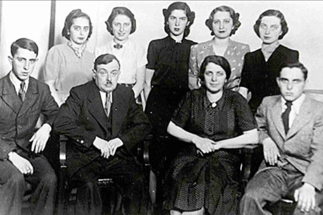 Z devíti členů rodiny Flusserových se z koncentračního tábora vrátila jen jedna žena