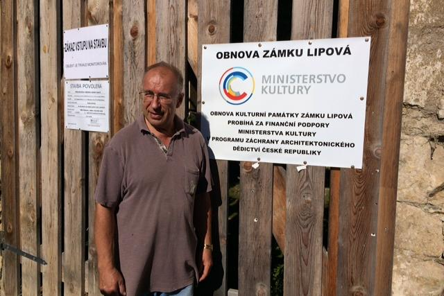 Obnova zámku Lipová u Šluknova