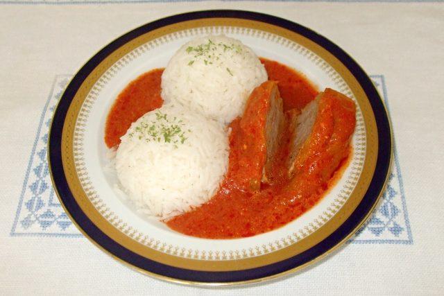 Plněná paprika s rýží
