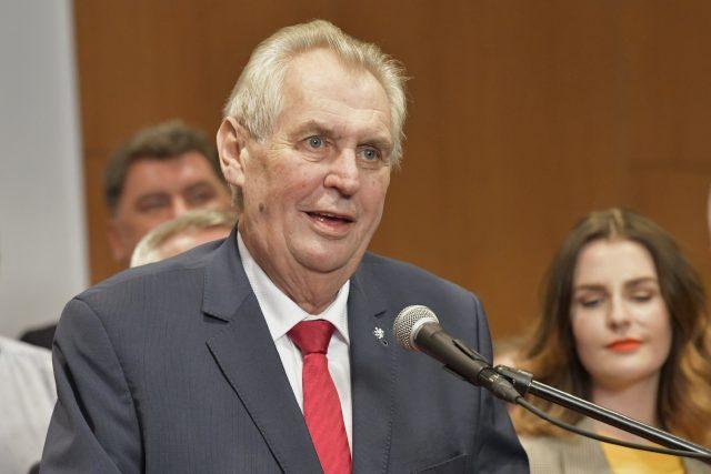 Miloš Zeman byl zvolen prezidentem i na další funkční období