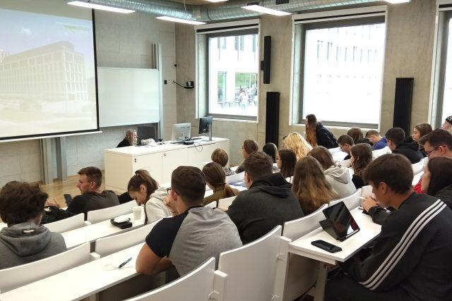 Centrum přírodovědných a technických studií Univerzity Jana Evangelisty Purkně | foto: Jana Vitásková,  Český rozhlas