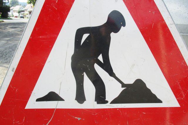 Práce na silnici (ilustrační fotografie)