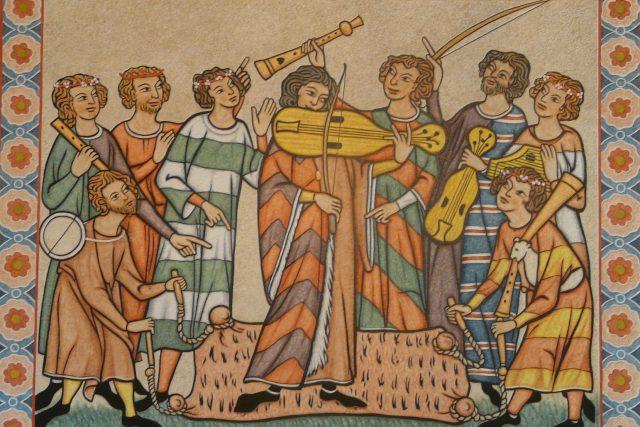 Středověký potulný pěvec – minnesängr | foto: Pixabay,  CC0 1.0
