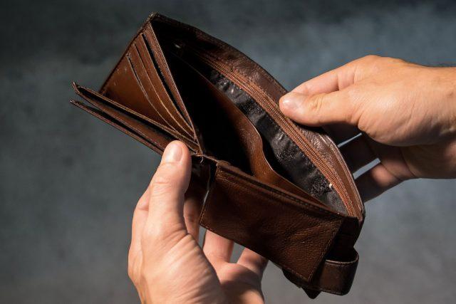 Nedostatek peněz  (ilustrační foto) | foto: Fotobanka Pixabay