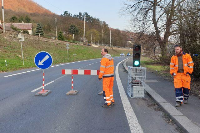 Oprava silnice I/30 v ústeckém Vaňově začala