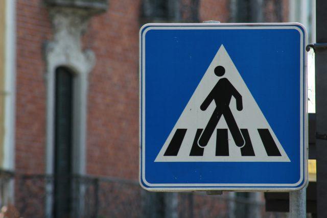 Přechody pro chodce často nahrazují místa pro přecházení