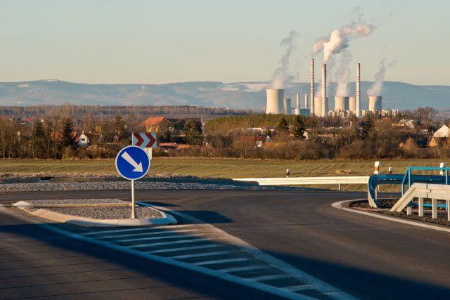 Hnědouhelná elektrárna Počerady   foto: Profimedia