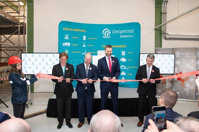 Unipetrol otevřel tréninkové centrum
