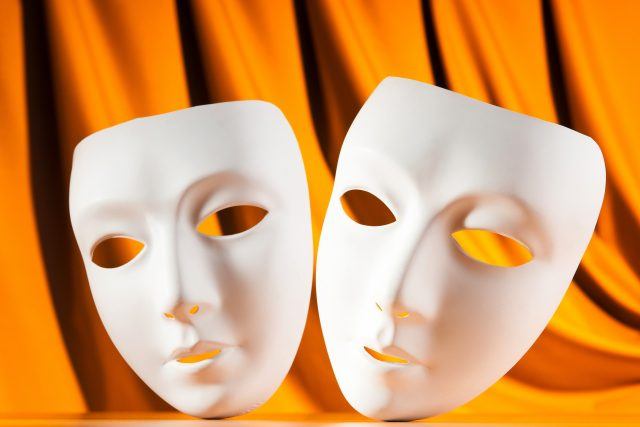 Divadlo, masky
