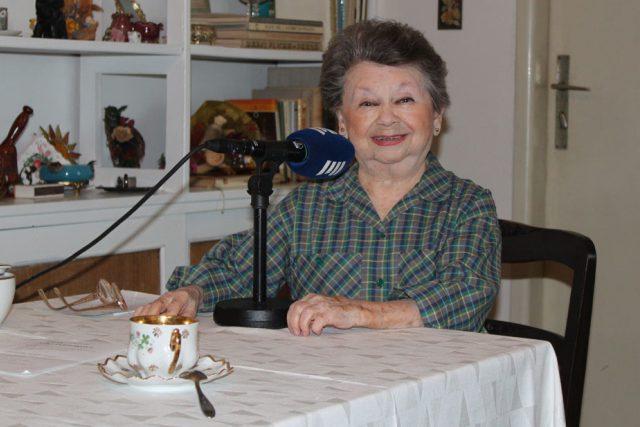Aťka Janoušková doma