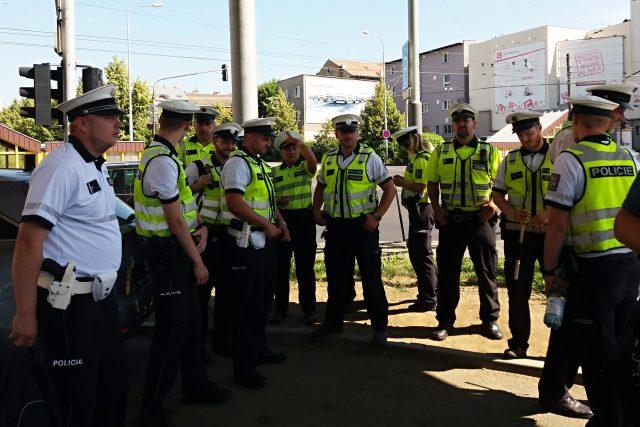 Dopravní policisté se připravují na sotěž Regulovčík roku 2019