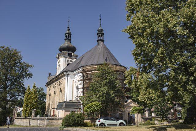 Kostel v Arnolticích