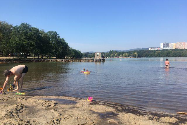 Kamencové jezero v Chomutově | foto: Jan Beneš,  Český rozhlas