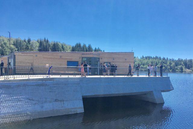 Infocentrum Povodí Ohře na přehradě Fláje