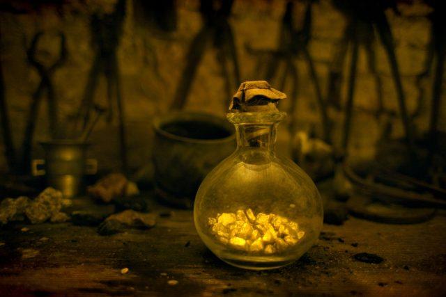 Zlato - věčná touha alchymistů